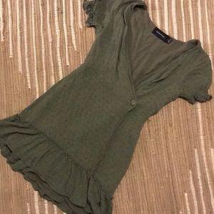 Green summer dress ✨